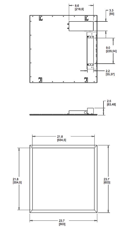 edge ez wiring diagram ezpan edgelit panels 2x2 battery backup dimension 2 png  ezpan edgelit panels 2x2 battery backup