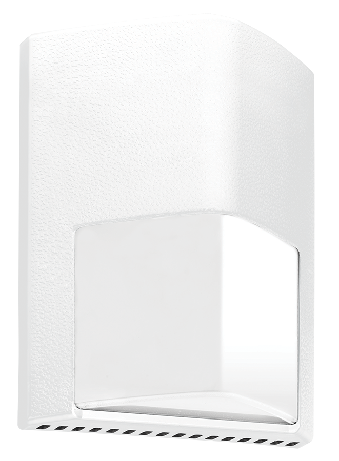 White RAB Lighting ENTRA12W//PC2 Entra 12W Cool LED 277V PC Wallmount Light