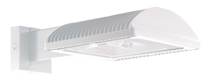 Color Temperature 4000 K RAB Lighting WPLED2T125N//480//PCS4 Ultra High Output//Efficiency LED Wallpack Bronze Finish Standard Type 1103325 Neutral 125W