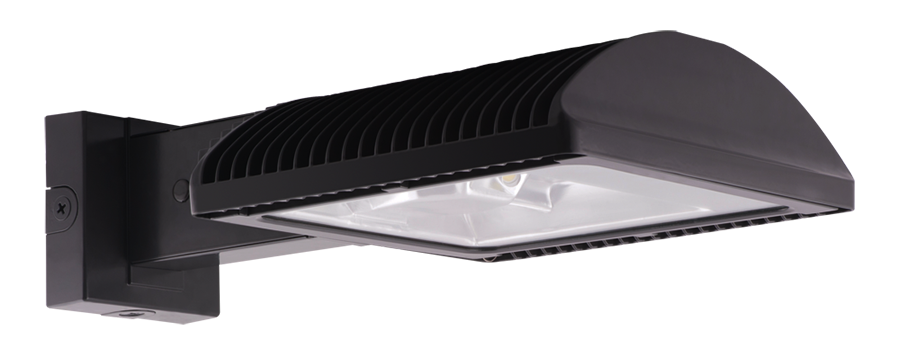 RAB Lighting WPLED2T150FXW//BL Ultra High Output//High Efficiency 150W LED Wallpack 5000 K Cool Color Bi-Level Type