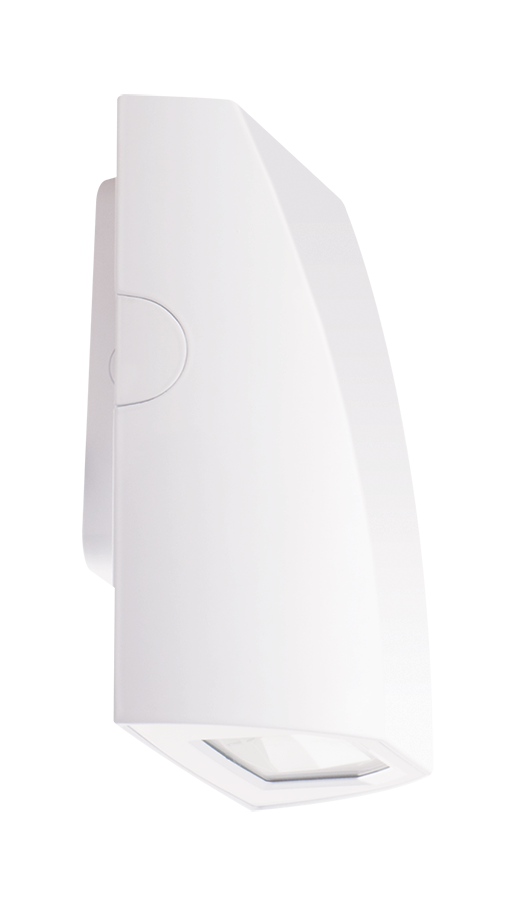 RAB SLIM12W 12 Watt LED SLIM™ Wall Pack, Wallmount, 5100K, 75 CRI, 1932 Lumens - White