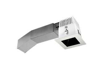 4000 K RAB Lighting ALED3T150SFN LED High Wattage Type III Area Light Neutral Standard Type Bronze Finish Color Temperature