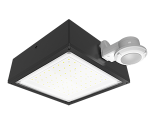 Color Temperature Standard Type 1103378 125W Bronze Finish 3000 K RAB Lighting WPLED2T125Y//PCS Ultra High Output//Efficiency LED Wallpack Warm