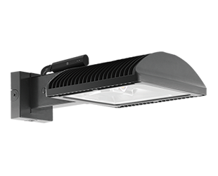 RAB Lighting WPLED2T150NFXW//PCS2 Ultra High Output//High Efficiency 150W LED Wallpack Neutral Color Standard Type 4000 K