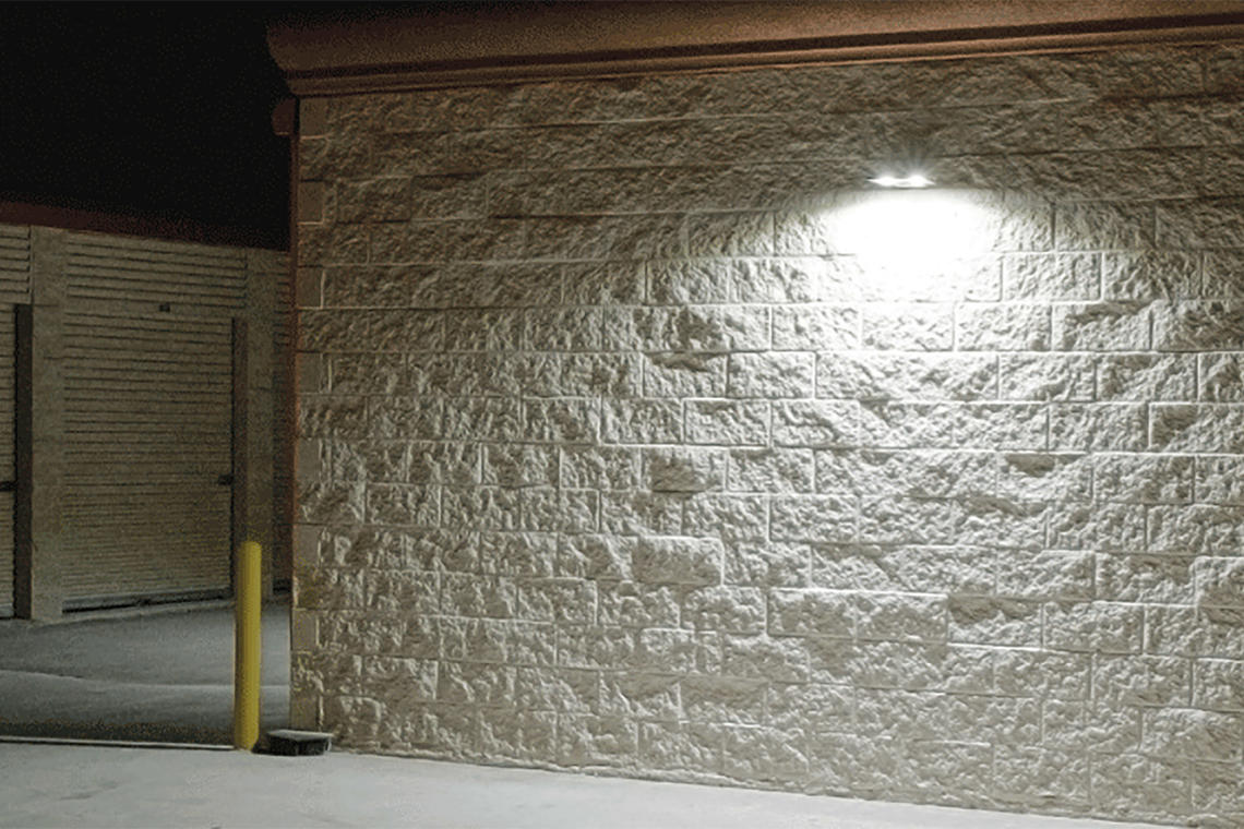 Gallery Rab Led Lighting Ures Self Storage Facility Of